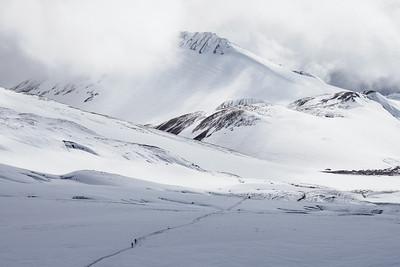 Snowy Laugavegur
