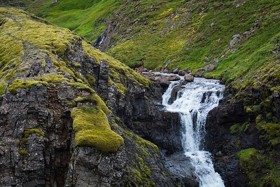 Folaldafoss (Foal Waterfall) near Oxi East Iceland