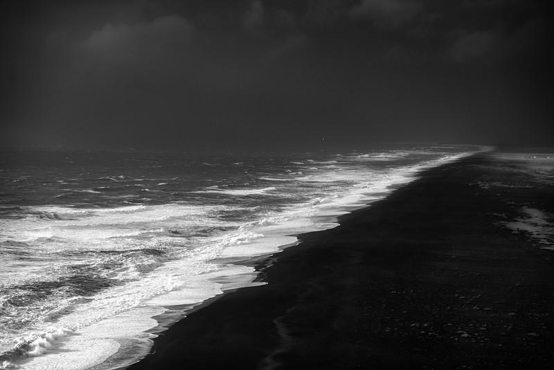 The beach at Reynisfjara, Vik