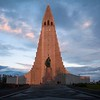 Reykjavik, Iceland is the capital and largest city in the southwestern shore.