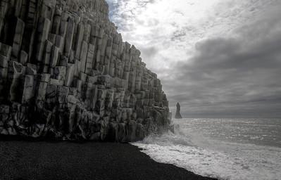 Reynisfjara Basalt Columns