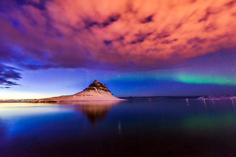 First Signs of Northern Lights