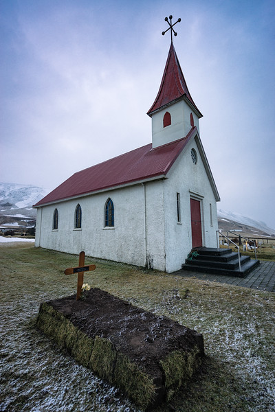 Buried in Iceland