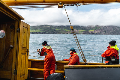 Whale Tour on a Sail Boat of the North Coast of Iceland
