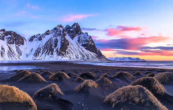 Sunrise at Stokksnes