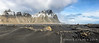 Black Sand Dunes - Vestvrhorn Mountain, Iceland (panorama 5 vertical images) - Mark Gromko - March 2014