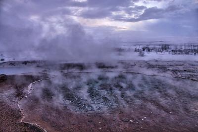 Geysir Hotspring Area