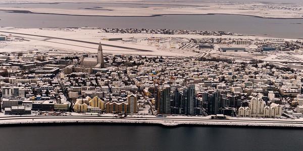 Reyjkavik skyline