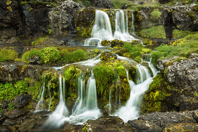 Below Dynjandi Falls