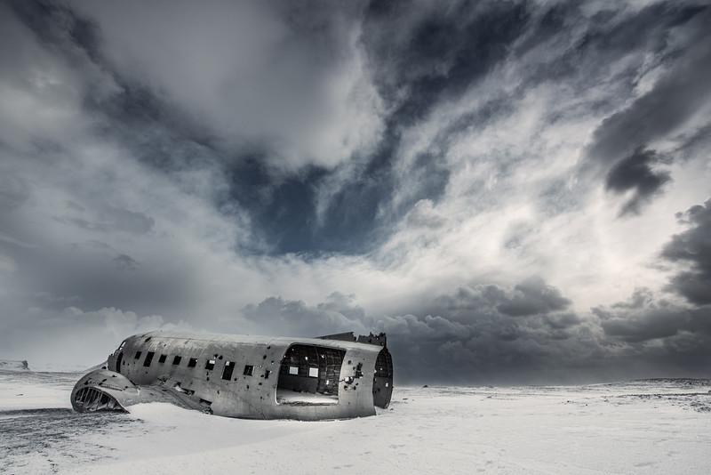 Sólheimasandur Crash, is a crashed US Navy Douglas C-117D