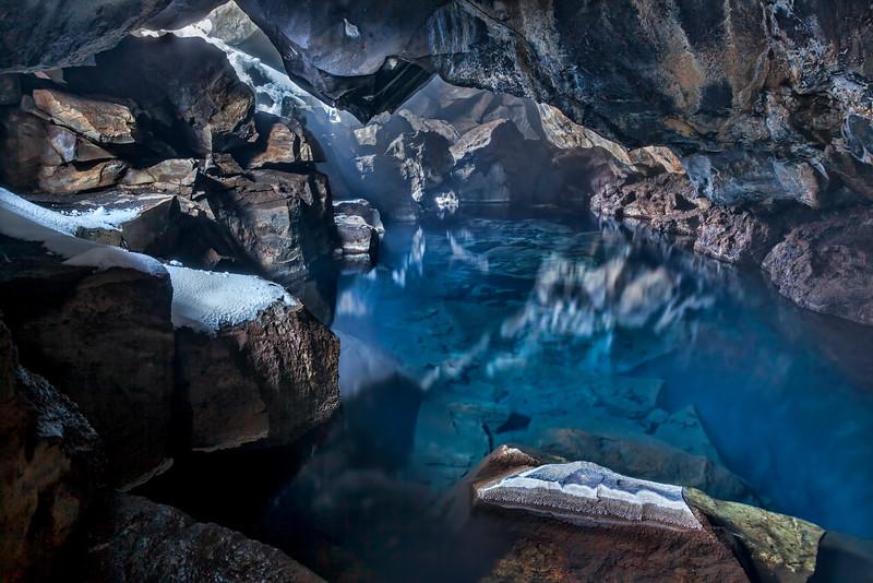 Grjotagja Cave near Lake Myvatn