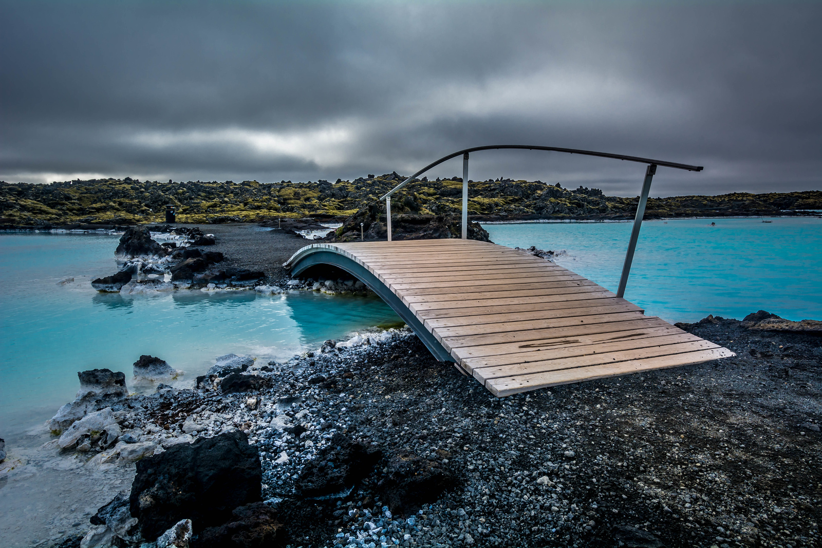 Bridge Over Warm Waters - Blue Lagoon, Iceland