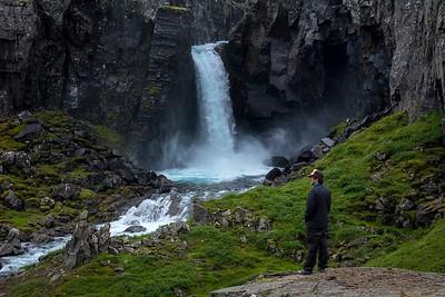 Folaldafoss (Foal Waterfall) near Oxi East Iceland