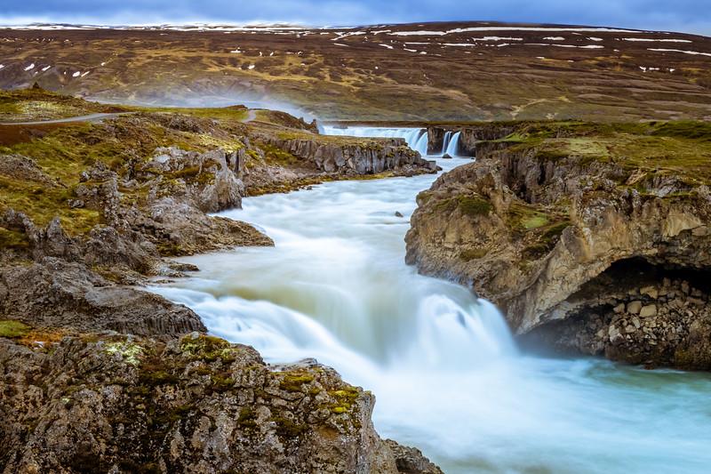 Goðafoss - A different perspective