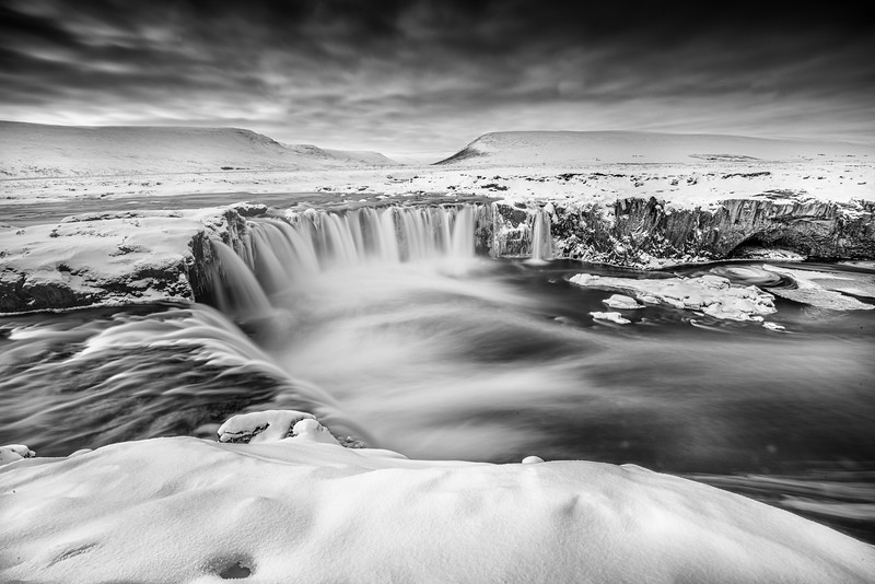 God's waterfall, Godafoss