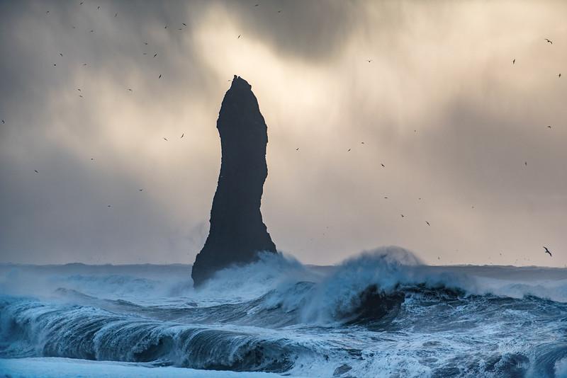Atlantic wave action