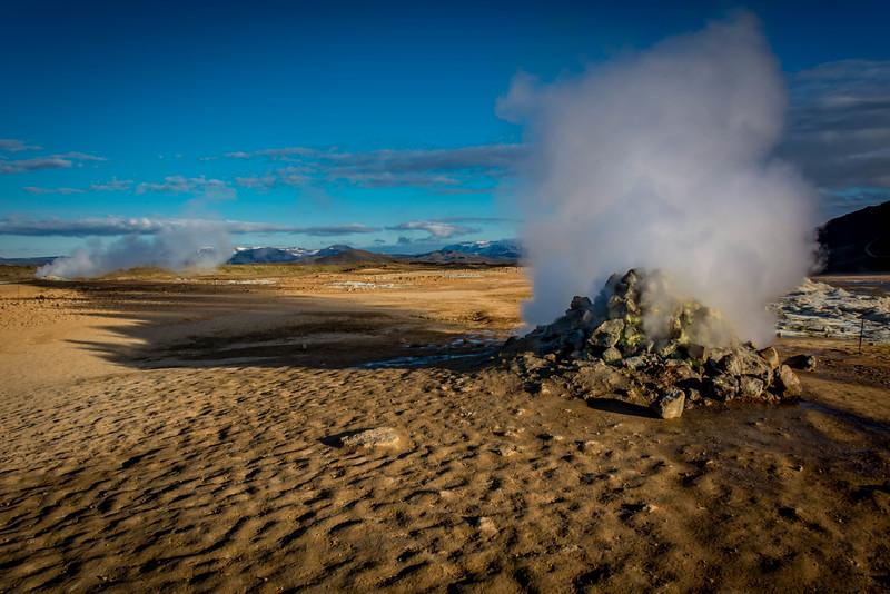 Inner Earth's Gateway Hverarönd, Iceland