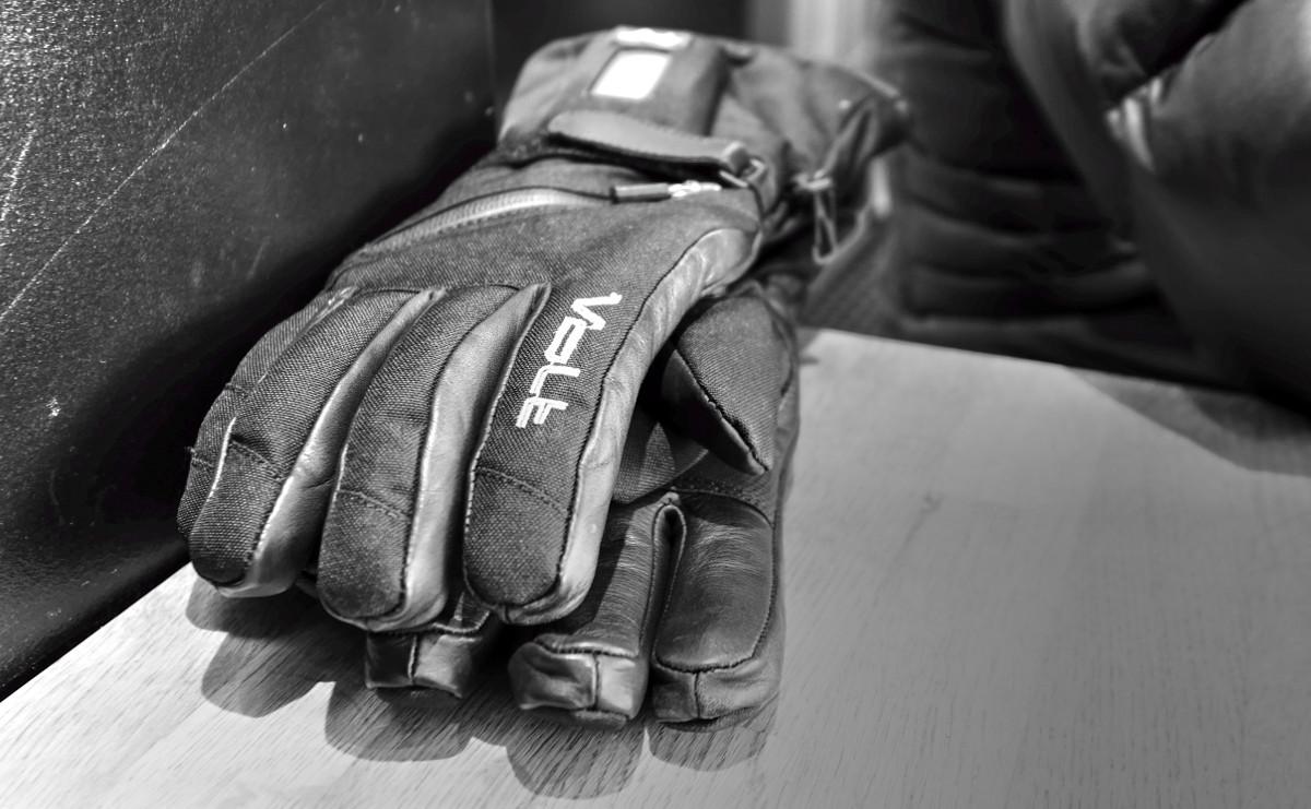 Alana's Batman gloves.