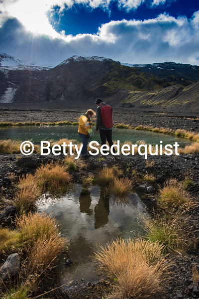 Volcanic Pond, Iceland