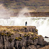 Photographer at Goðafoss, Iceland