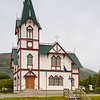 A church in Husavik, Iceland.