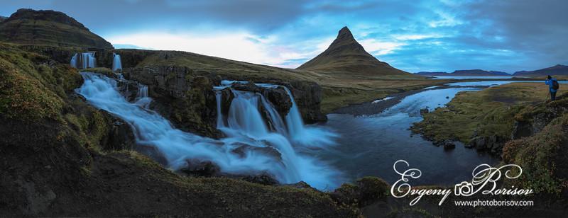Waterfall panorama