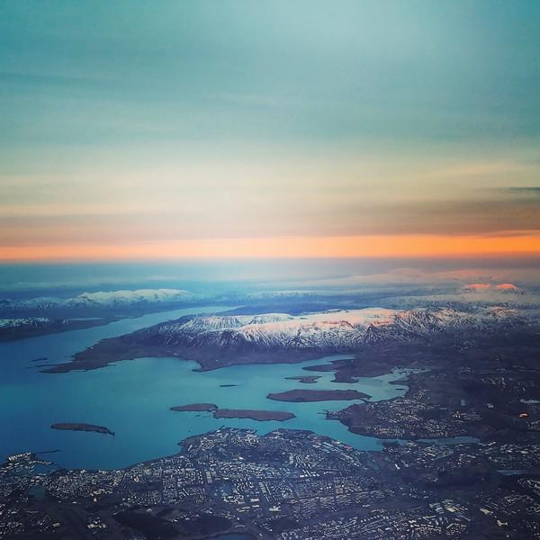 Reykjavík from the Air. 2017.
