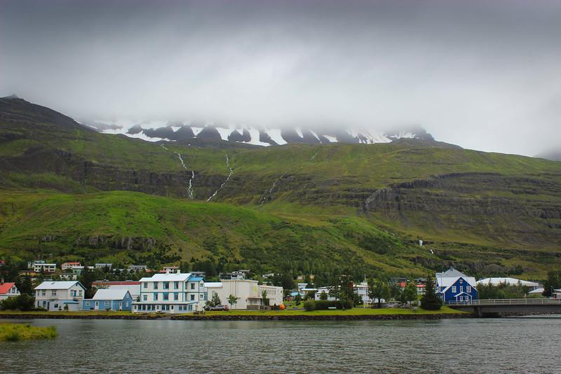 Seyoisfjordorour - landing spot for the Denmark/Iceland ferry service