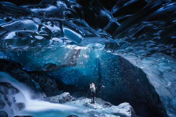 Photographing Ice Caves