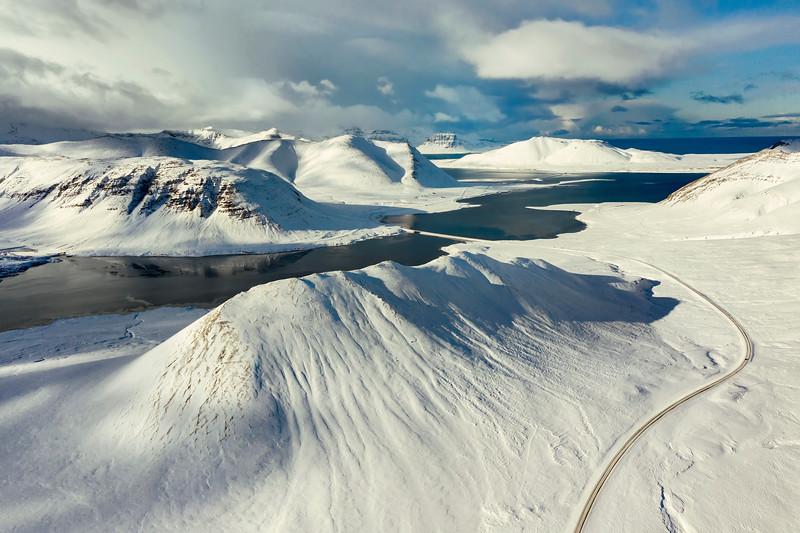 Berserkjahraun Landscape Aerial