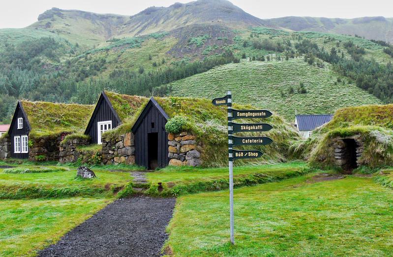 Ισλανδία. Μουσείο Skógar