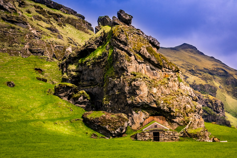 Cave House, South Iceland