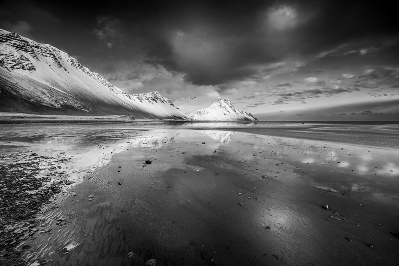 Light and land in South Iceland