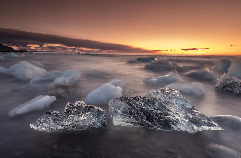 Iceland - Black Daimond beach