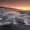 Iceland - Black Daimond beach