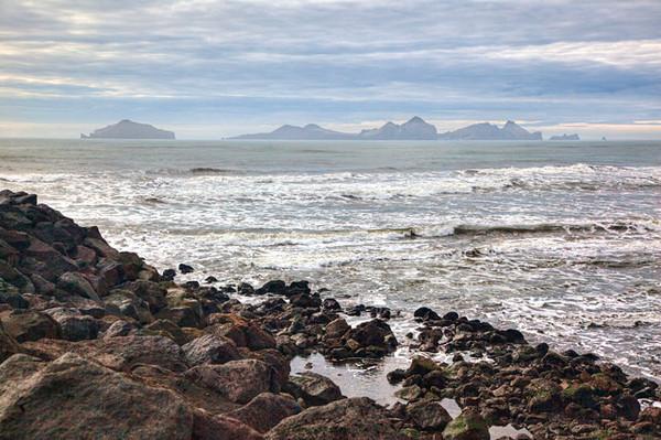 View of Vestmannaeyjar, Iceland