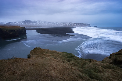 Coastal View of Vik, Iceland.