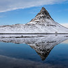 Kirkjufell Mountain Reflection
