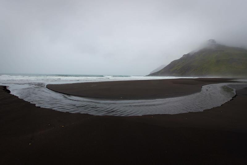 Black sand beach - East Iceland