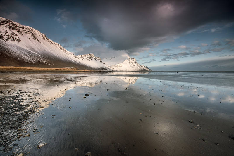 Light and land in S Iceland