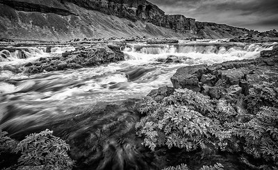 Roadside Rapids - Foss á Síðu, Iceland