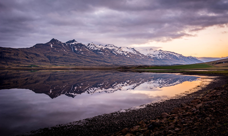 Midnight Reflections - Iceland