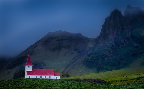 Mirror Image - Vik i Myrdal Church - Vik, Iceland
