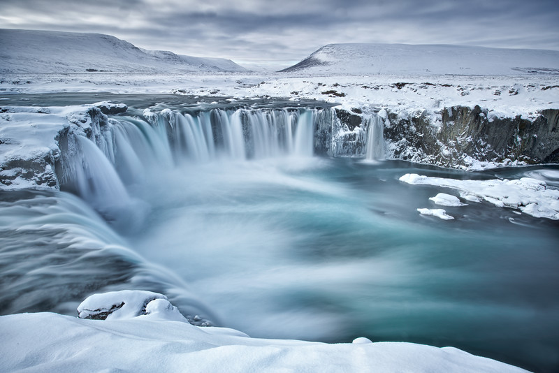 Godafoss in flow