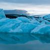 Jokulsarlon glacial lake in southern Iceland.