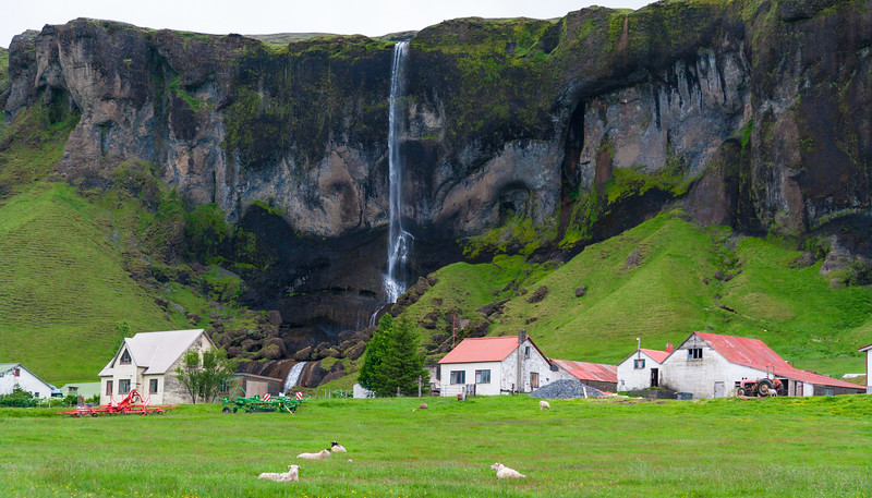 A farm in southern Iceland.
