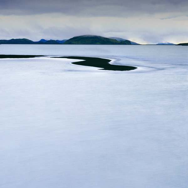 Ice, Sand, Water, Sky