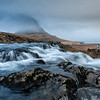Kirkjufellfoss Waterfall Closeup