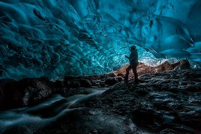Breidamerkurjokull Glacier Ice Cave