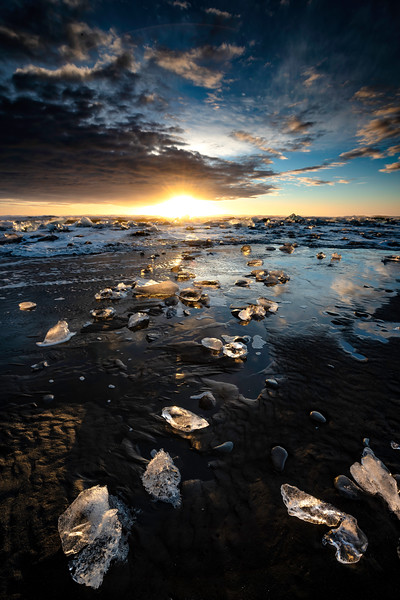 Ice Beach Sunrise